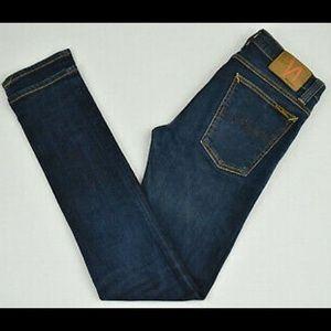 Nudie jeans- Nudie Jeans Tube Kelly Rinsed Strikey
